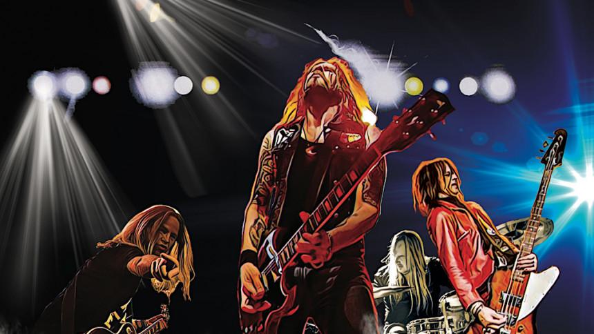 """Sveriges hetaste liveband"" skickar ut live-skiva"