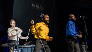 Young Fathers - Globen, Stockholm, 190311