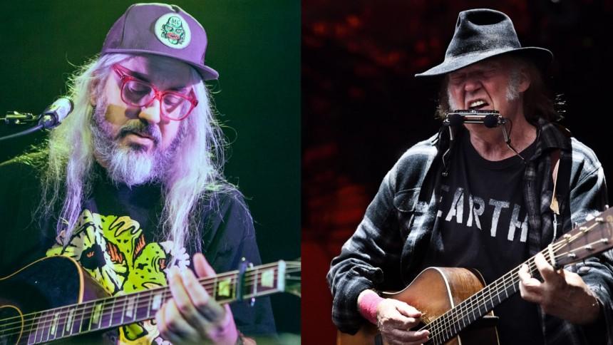 J Mascis flyttar konsert –vill inte missa Neil Young