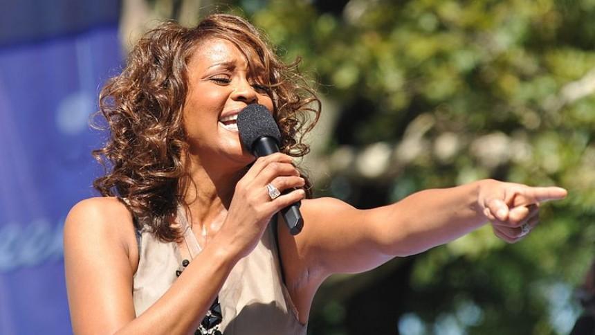 Whitney Houston till Sverige