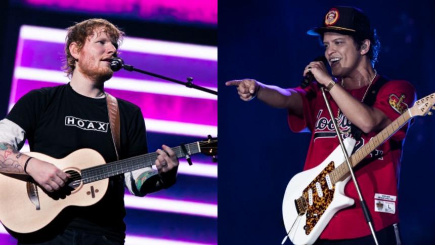 Ed Sheeran avslöjar stjärnsamarbete
