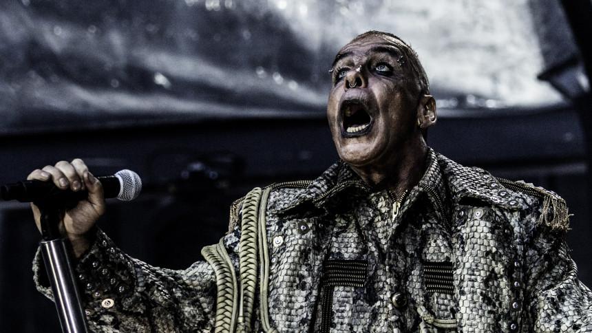 Rammstein-sångaren inte gripen – men varnad av rysk polis