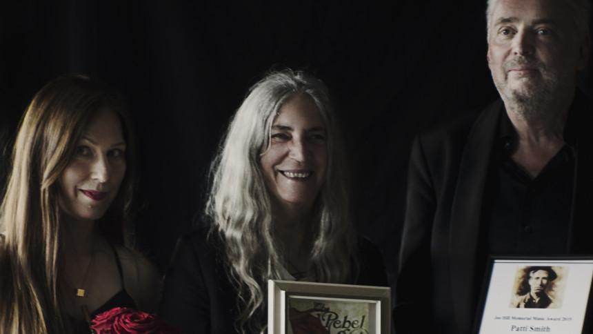Patti Smith prisas i Sverige