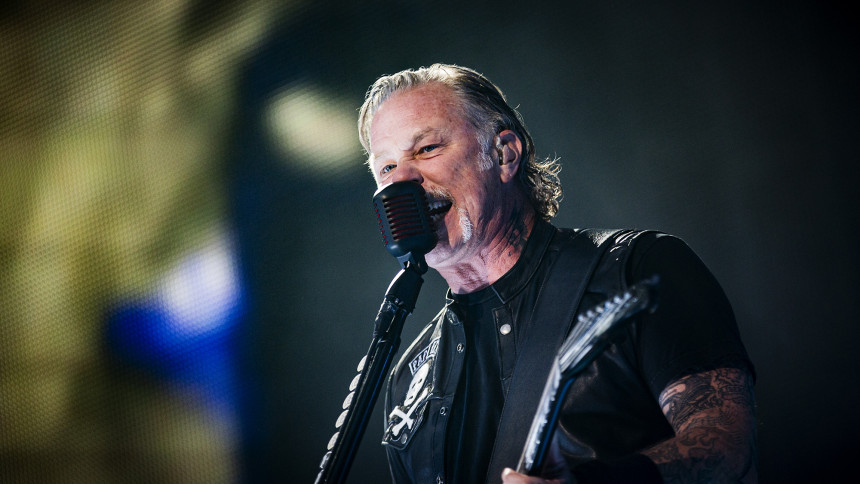 """Metallica presenterar en """"mycket glad liten låt"""" från 1991"""