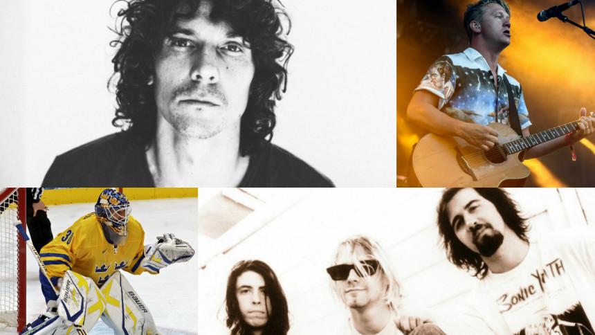 Se Håkan Hellström, Henrik Lundqvist, Johnossi-John mfl tolka Nirvana