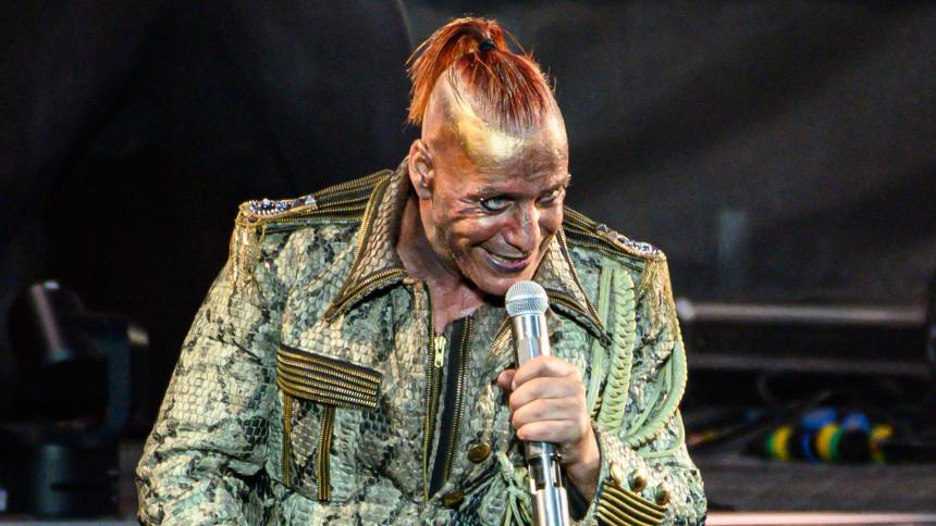 Rammsteins frontman har arresterats i Ryssland
