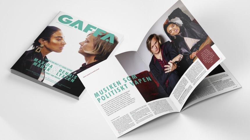 Maxida Märak och Dennis Lyxzén snackar politisk aktivism – nytt GAFFA-nummer ute nu!