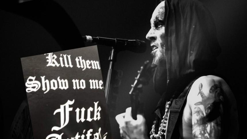 """Black metal-frontaren kritiserar Antifa – """"det gör mig inte till en nazistsupporter"""""""