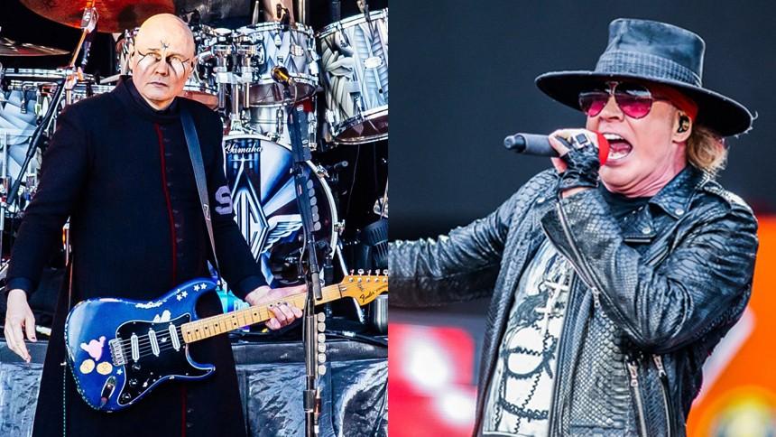 Guns N' Roses och Smashing Pumpkins gör gemensam sak