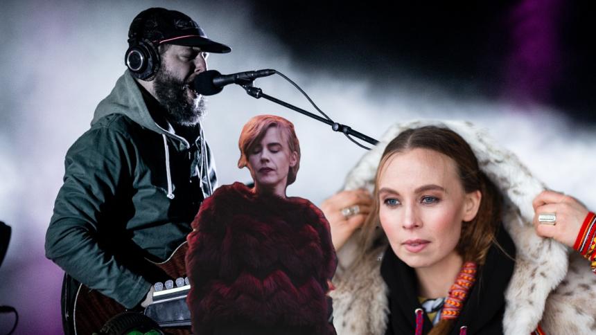 Bon Iver + Annika Norlin + Sofia Jannok = sant!