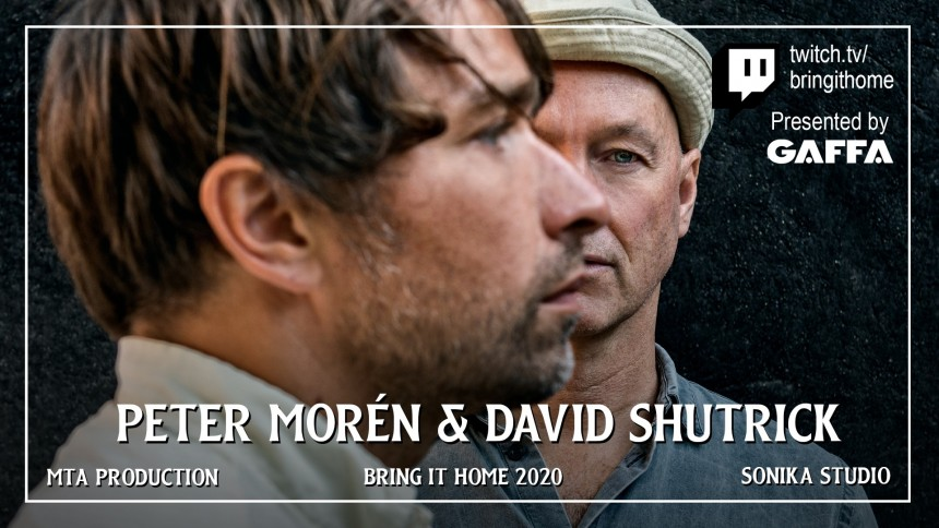 Se Peter Morén och David Shutrick ikväll på GAFFA.se