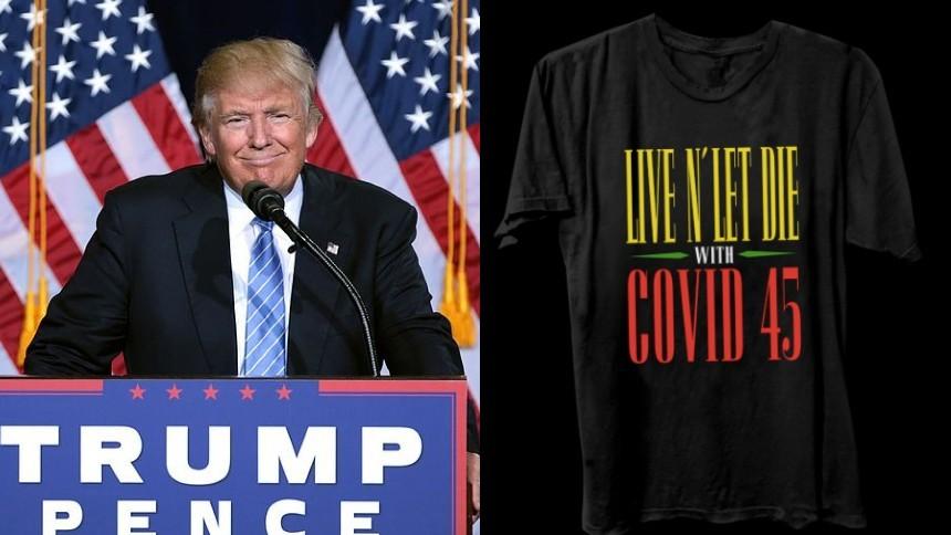 Guns N' Roses hånar Donald Trump – med t-shirt