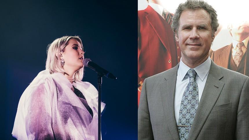 Avslöjat: Molly Sandén i samarbete med Will Ferrell
