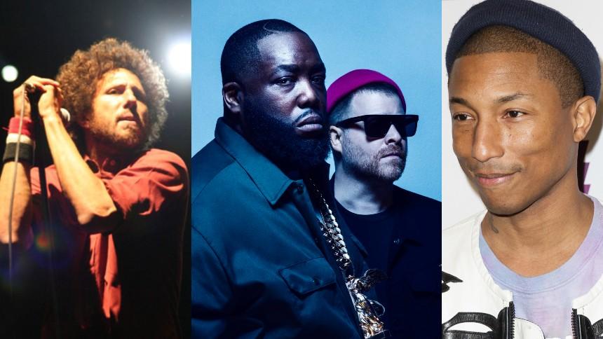 Zack de la Rocha, Run The Jewels och Pharrell i samarbete – lyssna här