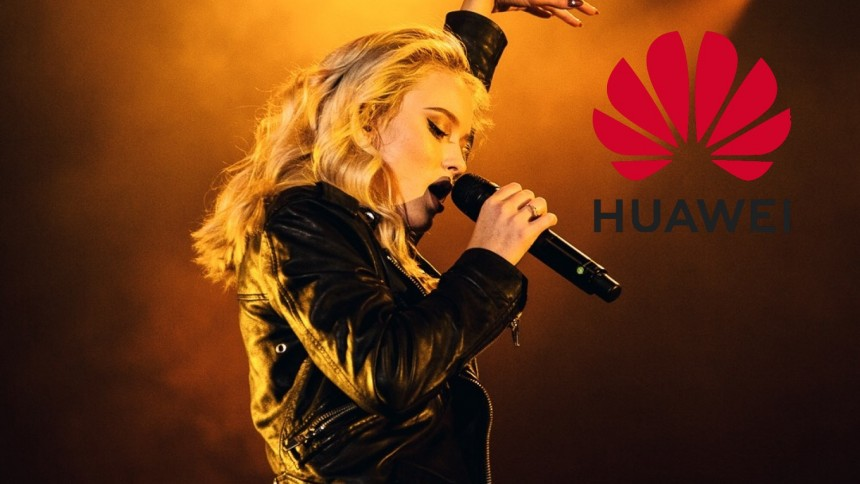 Nu svarar Huawei på Zara Larssons utspel