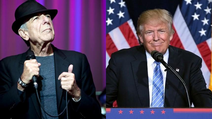 Snart ingen musik kvar för Trump
