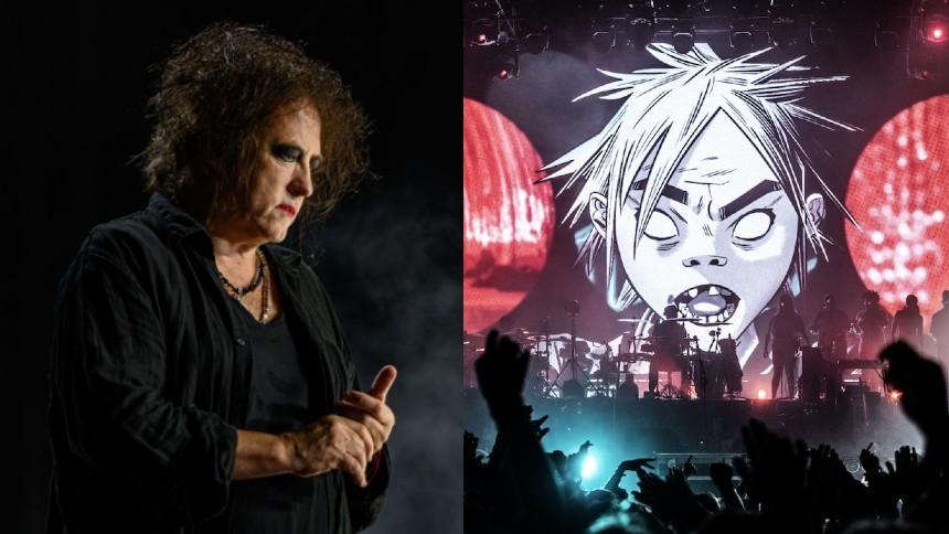 The Cure + Gorillaz = sant!