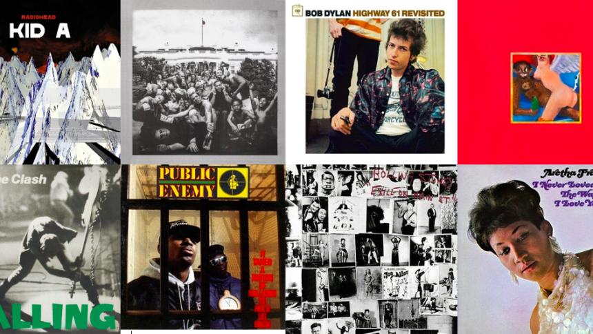 Här är världens 500 bästa album – enligt Rolling Stone Magazine