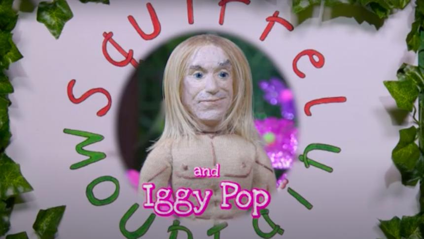 Iggy Pop medverkar i barnfilm