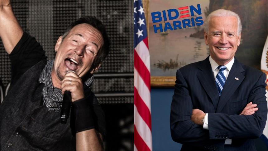 Springsteen lånar ut sin röst och musik till kampanj