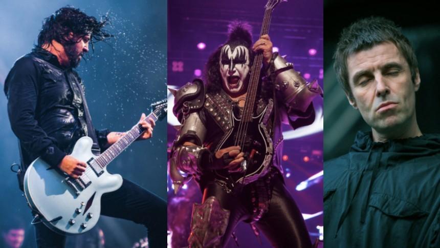 Därför är Dave Grohl och Liam Gallagher inga rockikoner – enligt Gene Simmons