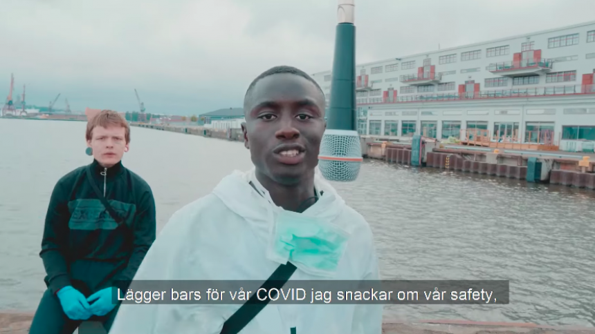 """Kolla in genial """"COVID-19 Beatbox"""" av två talanger i Göteborg"""