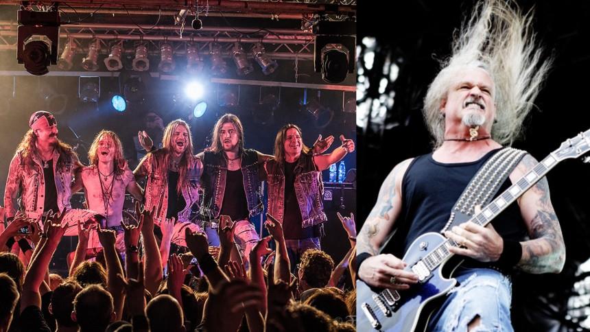 Resten av bandet uttalar sig efter gitarristens medverkan i stormningen