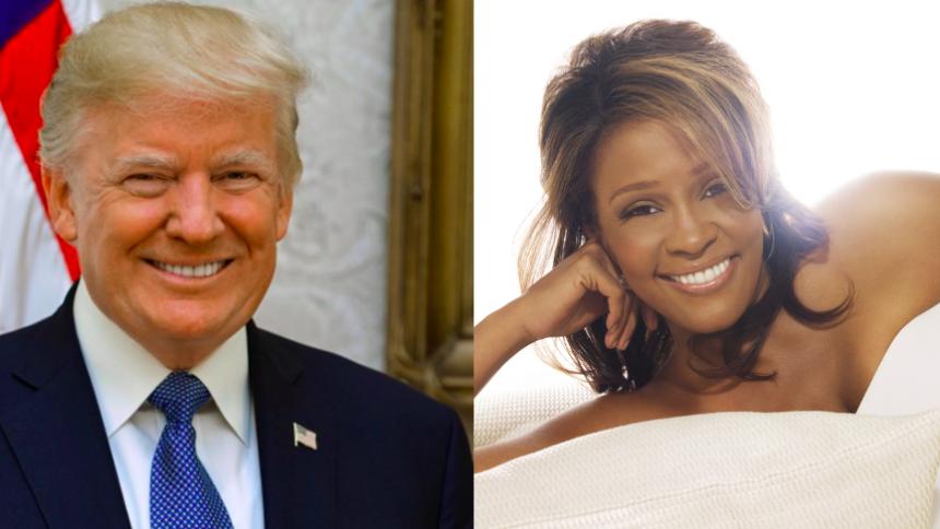 Donald Trump vill uppföra 250 statyer inklusive Whitney, Aretha och Elvis