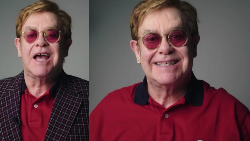 """Elton Johns vapen mot vaccinmotståndare – """"så här nära inpå hittar ni ingen kändare"""""""