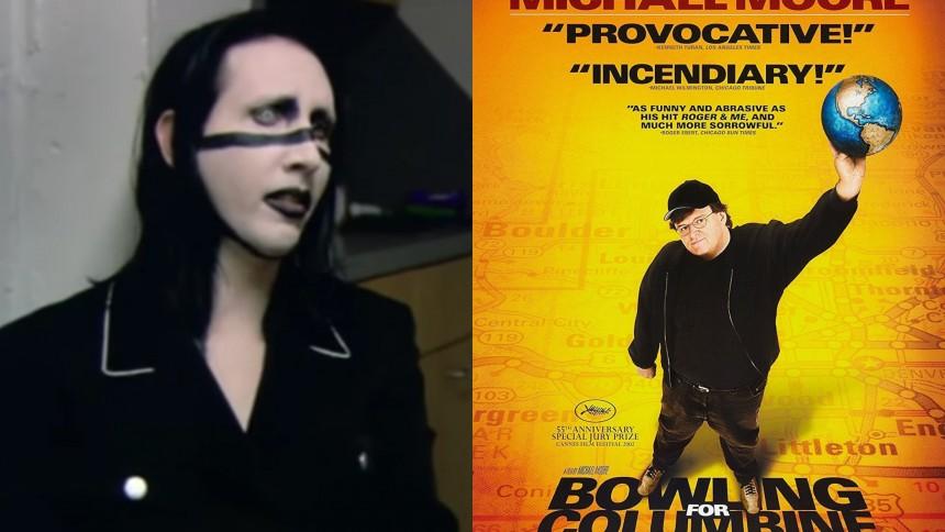 När Marilyn Manson beskylldes för en massaker – och svarade med slagfärdighet