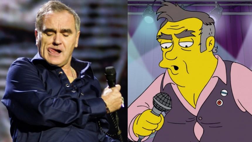 """Morrisseys ilska mot The Simpsons – """"hatiskt"""" och """"rasistiskt"""""""