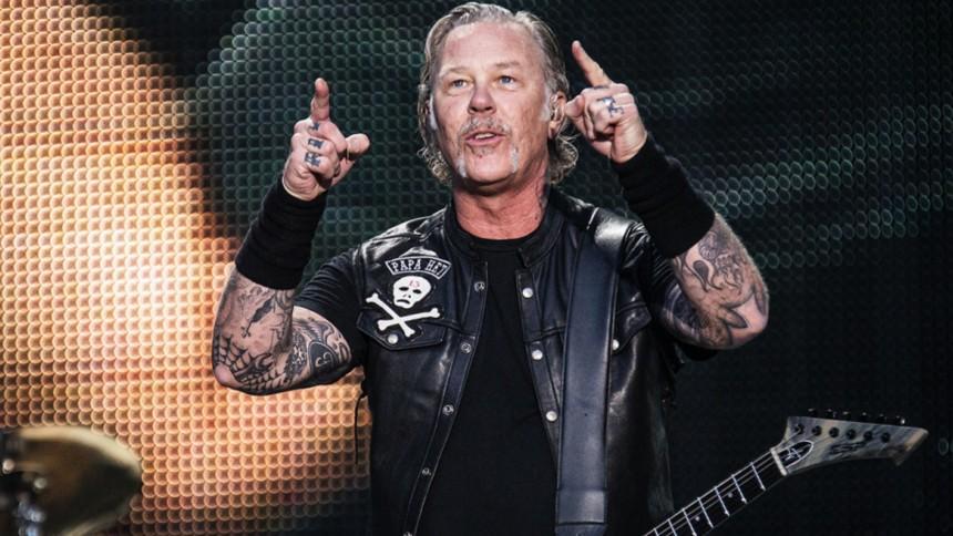 """Metallica-frontaren är """"skeptisk"""" till coronavaccin"""