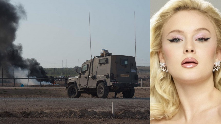 """Zara Larssons utspel mot Israel:  """"bedriver apartheid och dödar civila"""""""