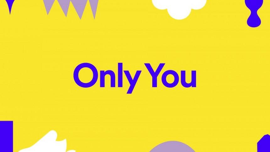 """Nu kan du se din unika musikresa med Spotifys """"Only You""""-funktion"""