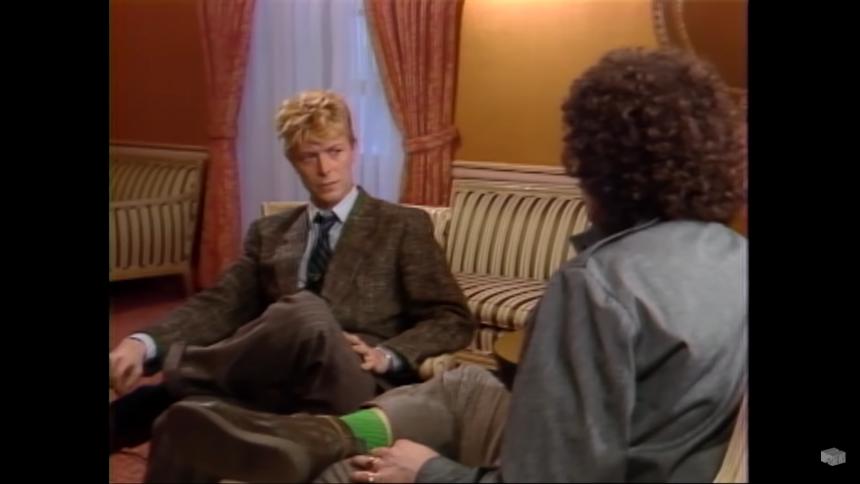 """David Bowie konfronterade MTV – """"Varför visar ni så få svarta artister?"""""""