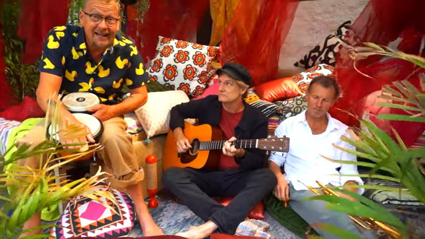 Håkan Hellström-musiker skickar ut humorlåt om tantrasex under pandemi